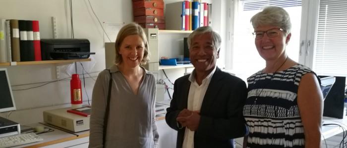 Miljöministern på besök hos PP Polymer och Paxymer aug 2017